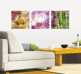 Siam Orchid Wall Decal