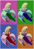 Banana Pop-Art Poster