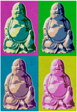 Buddha Pop-Art - Posterler