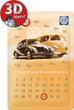 VW Kalender Tin Sign
