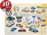 VW Fünfziger Jahre Plaque en métal