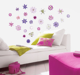Charming Blooms Wall Decal