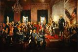 Scene at the Signing of the Constitution ポスター : ハワード・チャンドラー・クリスティー