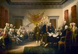 La declaración de independencia Pósters por John Trumbull