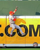Mike Trout 2012 Action Photo