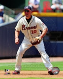 Chipper Jones 2012 Action Photo