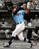 Evan Longoria 2012 Spotlight Action Photo