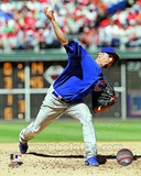 Matt Garza 2012 Action Photo