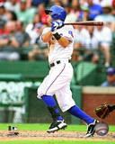 Ian Kinsler 2012 Action Photo