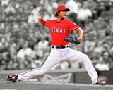 Yu Darvish 2012 Spotlight Action Photo