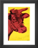 Cow, c.1966 (Yellow and Pink) Prints by Andy Warhol