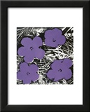 Flowers, c.1965 (Purple) Art by Andy Warhol