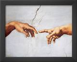Creation of Adam Poster by Michelangelo Buonarroti
