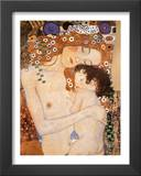 Three Ages of Women - Mother and Child Posters by Gustav Klimt