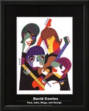 Paul, John, Ringo, and George Print by David Cowles
