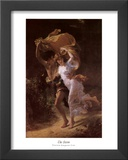 The Storm Poster by Pierre-Auguste Cot