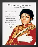 Michael Jackson Loved Quote Prints