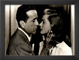 Big Sleep Movie (Humphyey Bogart and Lauren Bacall) Poster Print Prints