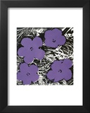 Flowers, c.1965 (Purple) Poster by Andy Warhol