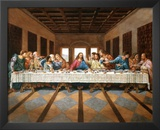 Leonardo Da Vinci The Last Supper Art Print Poster Print