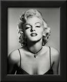 Marilyn Monroe (Portrait, B&W) Glossy Movie Photo Photograph Print Framed Photographic Print