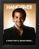 The Hangover Movie Bradley Cooper A Night They'll Never Forget Poster Print Prints