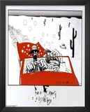Ralph Steadman (Fear and Loathing in Las Vegas) Art Poster Print Art