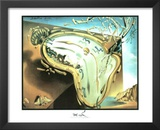 Salvador Dali Moment Of Explosion Art Print Poster Prints
