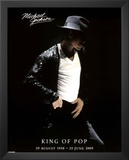 Michael Jackson (In Memoriam) Music Poster Prints
