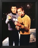 Star Trek Spock and Captain Kirk TV Poster Print Prints
