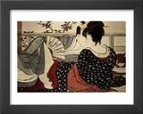 The Lovers Prints by Utamaro Kitagawa