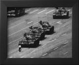 Tiananmen Square Man and Tanks Glossy Photo Photograph Print Framed Photographic Print