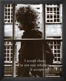 Bob Dylan I to Accept Chaos Music Poster Print Prints