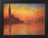 Dusk in Venice Art by Claude Monet