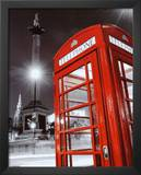 Red Telephone Box - Trafalgar Square Prints