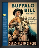 Buffalo Bill (Wild West Show) Art Print Poster Art