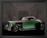 1932 Ford Roadster Classic Car Art Print Poster Prints