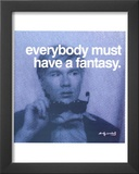Fantasy Poster by Andy Warhol