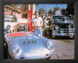 James Dean Movie (Porshe) Print