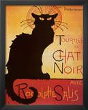 Theophile Steinlen Tournee du Chat Noir Avec Rodolphe Salis Art Print Poster Posters