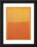 Orange & Yellow Posters by Mark Rothko