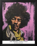 Purple Haze, Jimi Hendrix, Rhythm and Hue Prints by David Garibaldi