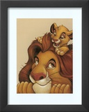Simba and Mufasa: My Father, My Friend Print