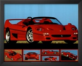 Ferrari F-50 (Photos) Sport Poster Prints