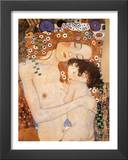 Three Ages of Women - Mother and Child Art by Gustav Klimt