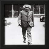 Albert Einstein Super High Glossy Photo Poster Framed Photographic Print