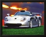 Todd Latimer (Porsche Carrera GT, Quicksilver) Art Poster Print Art