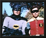 The Dynamic Duo Batman and Robin TV Poster Print Print