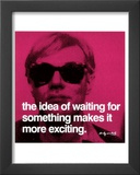 Waiting Poster by Andy Warhol