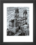Waterfall Print by M. C. Escher